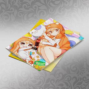 Скетчбук А5 кремовые листы Himouto! Umaru chan 30 листов 005