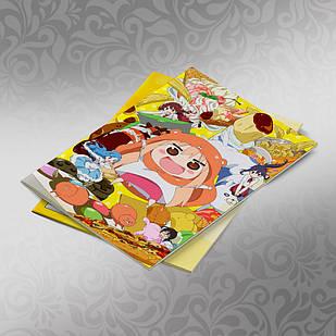 Скетчбук А5 кремовые листы Himouto! Umaru chan 30 листов 007