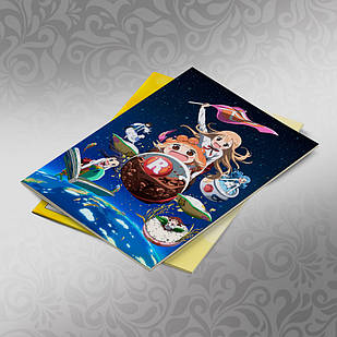 Скетчбук А5 кремовые листы Himouto! Umaru chan 30 листов 008