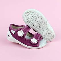Детские текстильные туфли тапочки Марина тм Waldi размер 27,30, фото 3