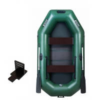 Човен надувний човен ЛТ-250-СБЕТ з слань-килимком