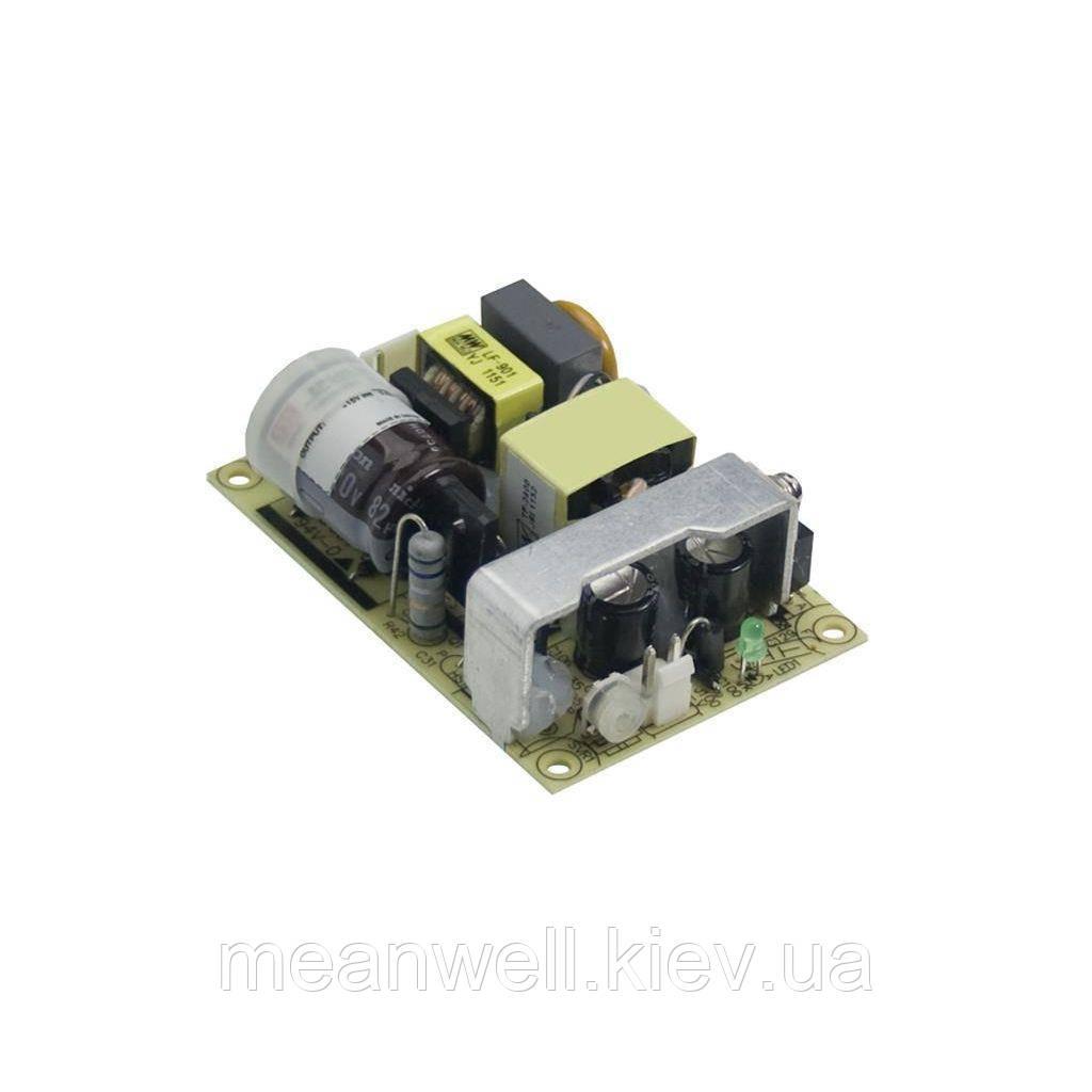 EPS-35-12 Блок питания Mean Well  Открытого типа 35 Вт, 12 В, 3 А (AC/DC Преобразователь)
