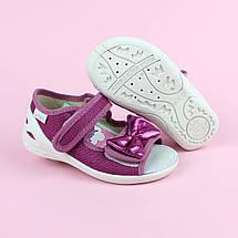 Детские текстильные туфли тапочки Катя тм Waldi размер 25, фото 3