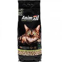Древесный наполнитель Animall для котов 3 кг Энимал