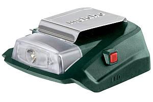 Аккумуляторный адаптер питания Metabo PA 14.4-18 LED-USB (600288000)