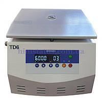 Центрифуга лабораторна TD6 (цифрова, 6000 об/хв, безщітковий мотор, 12*15мл, таймер, 5120g)