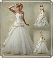 Прокат 3000 грн. Свадебное модное платье Elisabeth