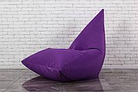 Бескаркасное Кресло мешок Фиолетовая Пирамида XXL