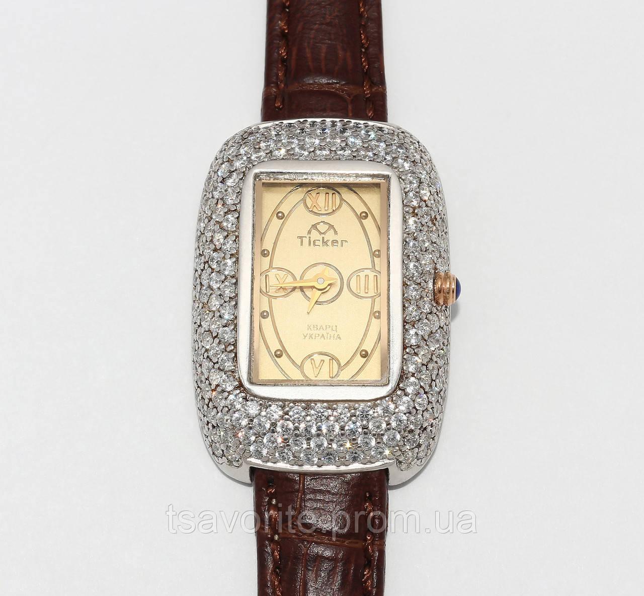 Женские серебряные часы ЖЧХ-2