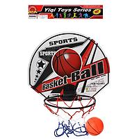 Баскетбольное кольцо M 2690-1/2 (Овальный щит)