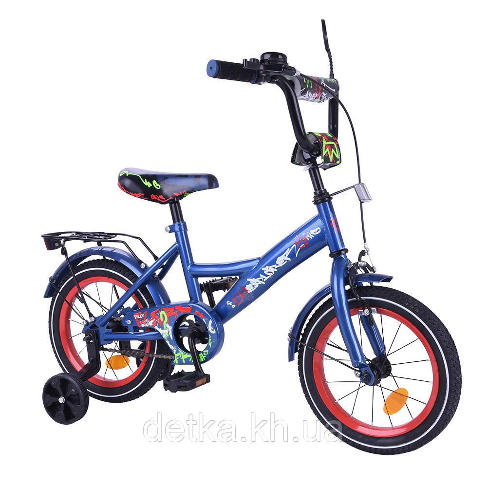 "Велосипед EXPLORER 14"" T-214112 blue_red"