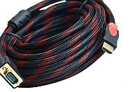 Кабель видео HDMI-VGA 10м