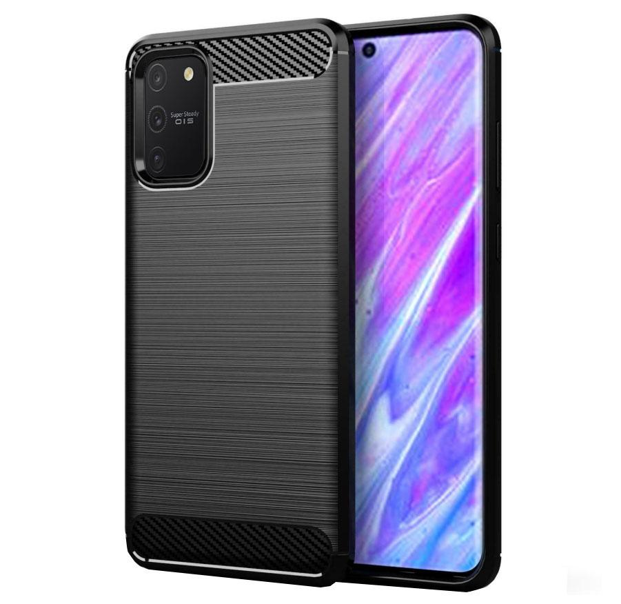 Чохол Primo Carbon Fiber Series для Samsung Galaxy S10 Lite (SM-G770) - Black