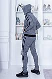 Трендовый спортивный костюм.  Ангора турецкого производства. Качественный пошив р.М,L,XL код 1-1967G, фото 8