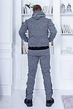 Трендовый спортивный костюм.  Ангора турецкого производства. Качественный пошив р.М,L,XL код 1-1967G, фото 9