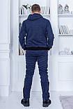 Трендовый спортивный костюм.  Ангора турецкого производства. Качественный пошив р.М,L,XL код 1-1967G, фото 5