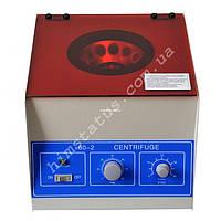Центрифуга лабораторна 80-2 (4000 об/хв, 12*20мл, таймер, 2325g)