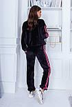 Трендовый спортивный костюм. Велюр турецкого производства. Качественный пошив. р.S, М, L код 2-1866G, фото 4