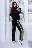 Трендовый спортивный костюм. Велюр турецкого производства. Качественный пошив. р.S, М, L код 2-1866G, фото 3