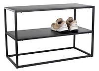 Полка-подставка для обуви металлическая  (2 полки)