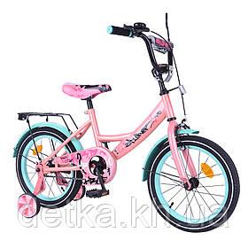 "Велосипед EXPLORER 16"" T-216116 pink_green"