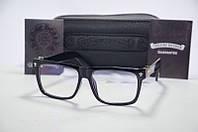 Имиджевые очки, оправа  Chrome Hearts глянец.  .
