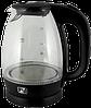 Чайник стеклянный PROMOTEC PM-824 1.7л с LED-подсветкой, фото 2