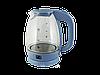 Чайник стеклянный PROMOTEC PM-824 1.7л с LED-подсветкой, фото 6
