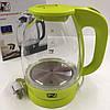 Чайник стеклянный PROMOTEC PM-824 1.7л с LED-подсветкой, фото 7