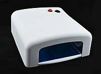 Ультрафиолетовая лампа для ногтей UKC 36Вт K818 белый