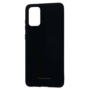 Чехол-накладка Silicone Hana Molan Cano для Samsung Galaxy S20+ (SM-G985) (black)