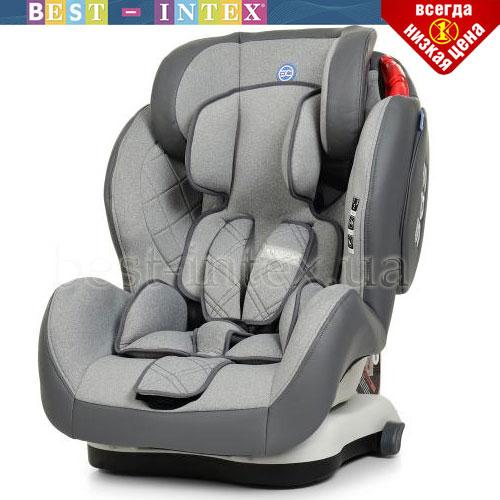 Автокресло ME 1057 BASTION Light Gray EL CAMINO группа 1-2-3 isofix