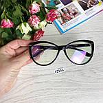 Стильные имиджевые очки с антибликовым покрытием, фото 8