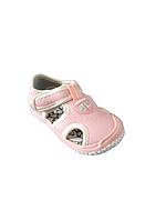 Сандалии с защитой носка девочкам, размер 28 стелька 17,5 см