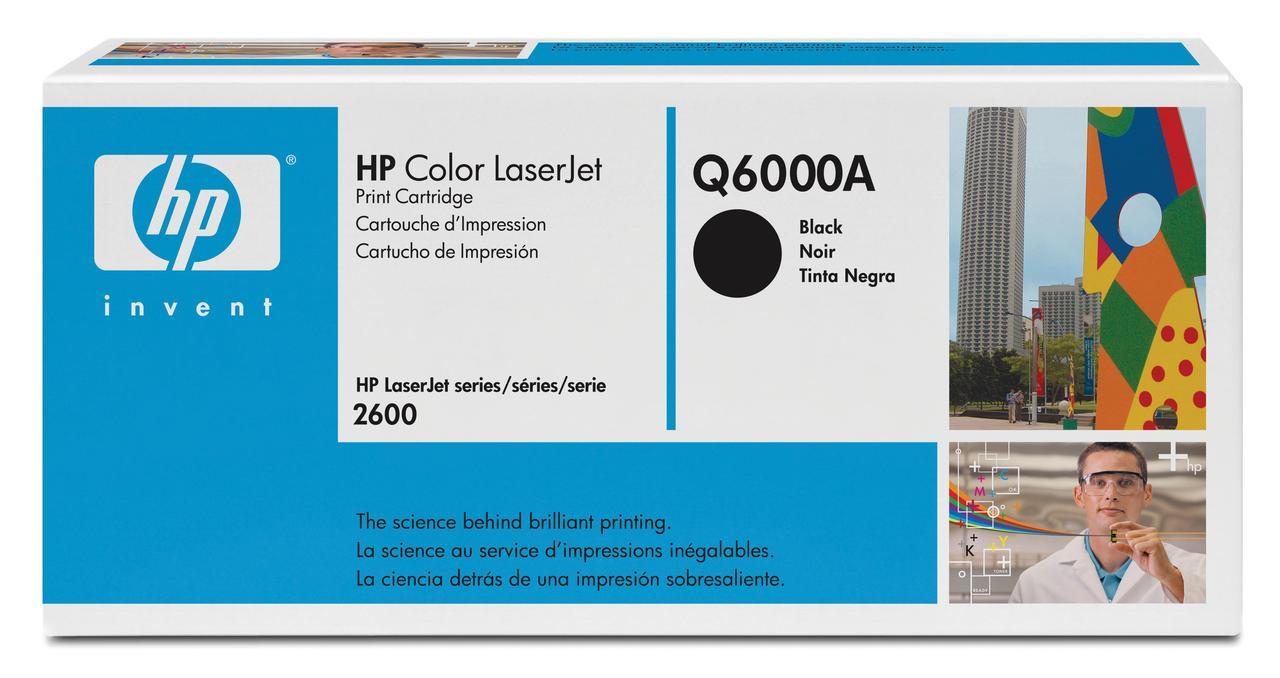 Тонер-картридж HP 124A CLJ 1600/2600 Black 2500 страниц