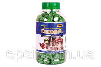 Отрава смесь Котофеич для уничтожения крыс и мышей со вкусом арахиса (зеленые) 200г (банка)