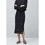 Женская юбка mango синяя, фото 2