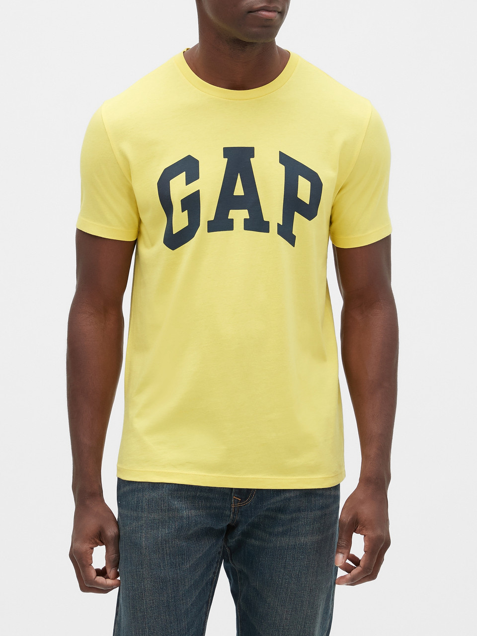 Футболка мужская GAP art547162 (Желтый, размер XS)
