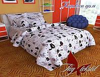 Постельное белье подростковое ранфорс TAG - Кошкин дом