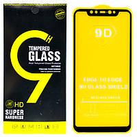 Защитное стекло 9D для Xiaomi Mi 8 (Black)