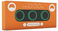 Магнитные кольца FinGears Magnetic Rings Sets Size M Green-Black