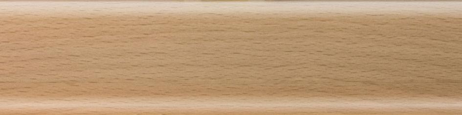 Плинтус пластиковый Salag 02 бук с кабель каналом напольный пластиковый плинтус