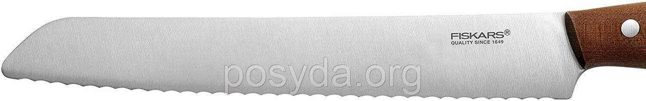 Нож для хлеба Fiskars Norr (1016480) - 21 см