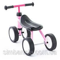 Детский беговел Puky Pukylino для деток от 1 года(розовый), Германия