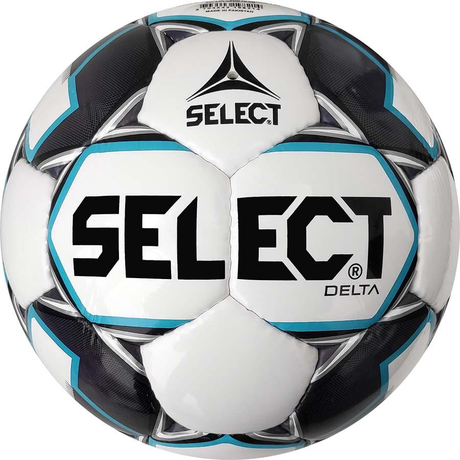 Футбольный мяч Select Delta IMS размер 5  бело-серый
