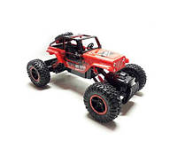 Джип Diancheng Toys Rock Crawler машинка на р/у Красный мощный большой внедорожник на радиоуправлении