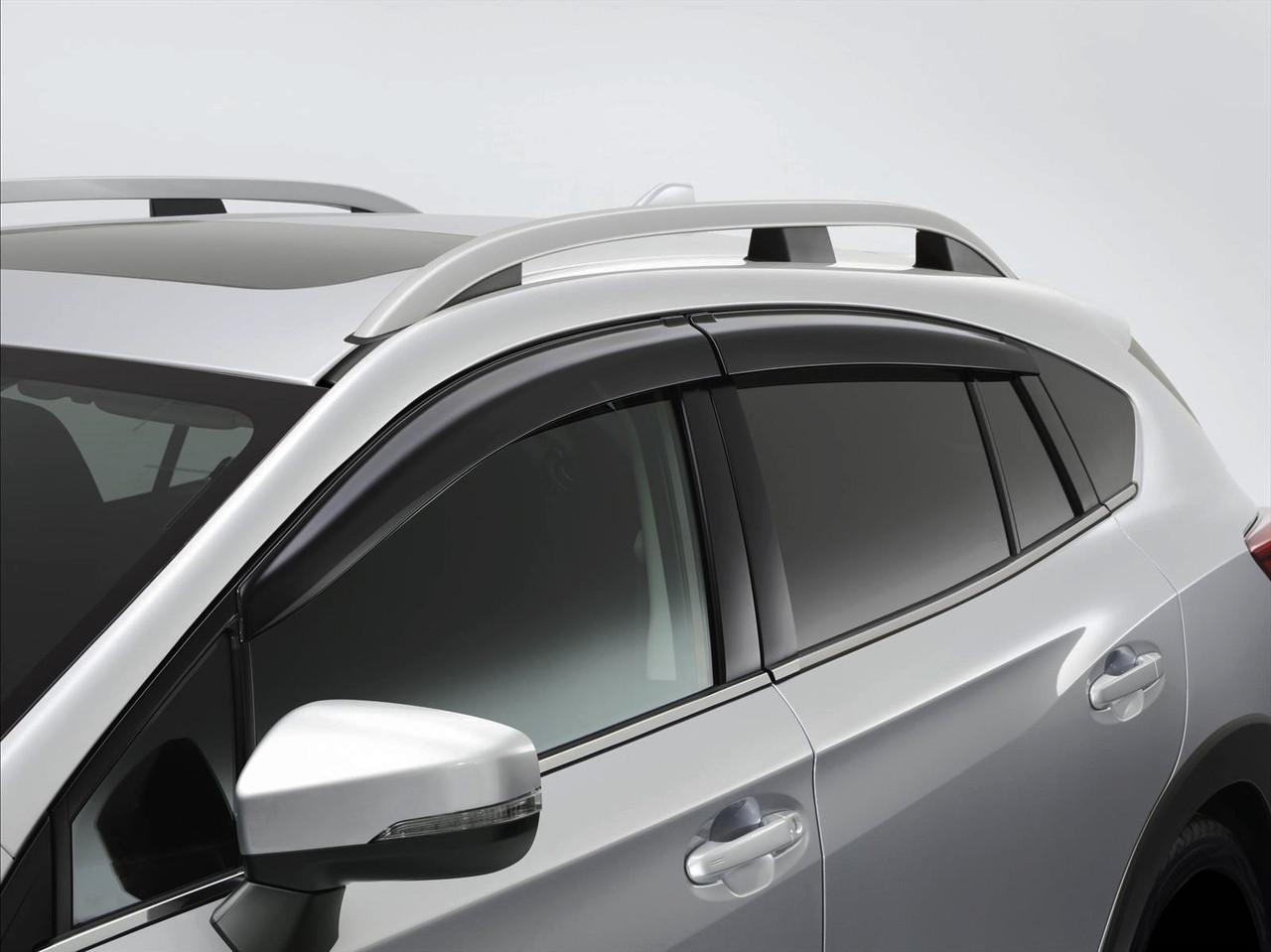 Дефлекторы окон (ветровики) CITROEN C4 I (hatchback) 2004 - 2010  (ANV)