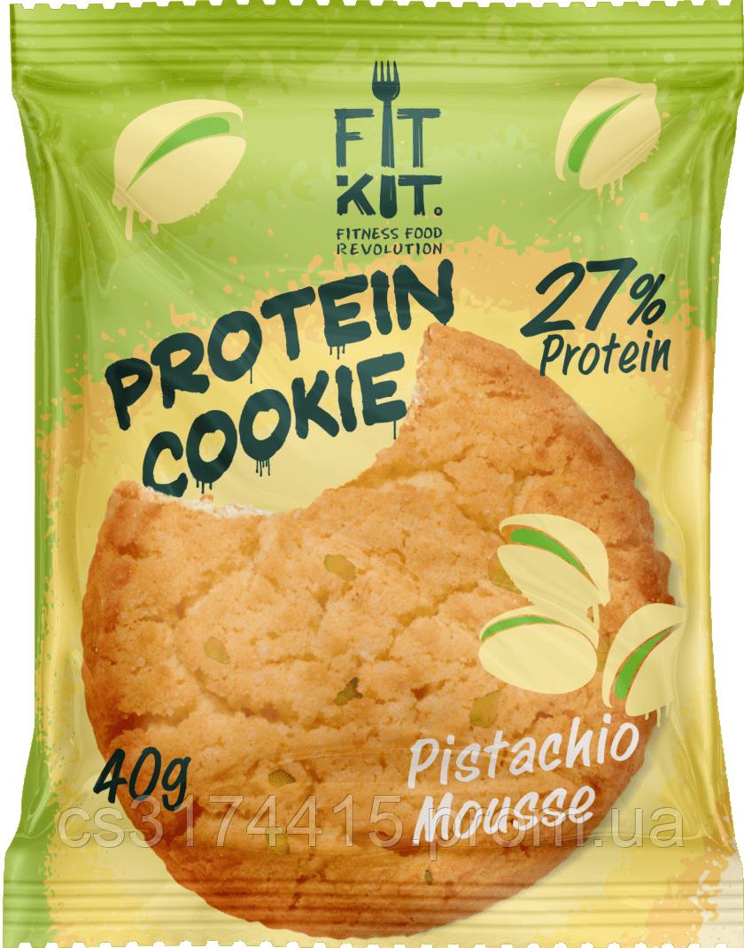 Протеїнове печиво Fit Kit Фісташковий Мус (40 грам)