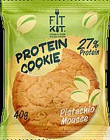 Протеиновое печенье Fit Kit   Фисташковый Мусс  (40 грамм)