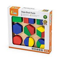 Набор для обучения Viga Toys Фигуры пазл (58573)
